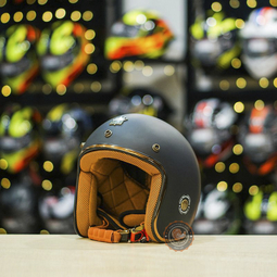 Mũ bảo hiểm Royal M20C Đen Nhám [Size L]