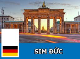 Sim 4G Du Lịch Đức - 12GB - 28 Ngày