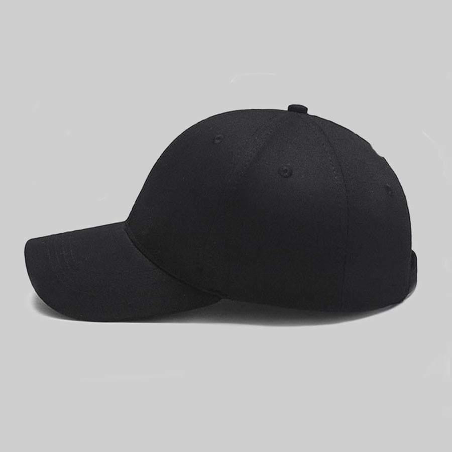 Mũ lưỡi trai đen trơn Unisex - P131110 | Sàn thương mại điện tử của khách  hàng Viettelpost