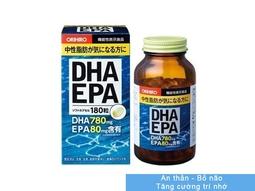 Viên Uống DHA EPA Orihiro Nhật Bản 180 Viên