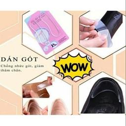 Miếng dán sau giày silicon chống trầy chân
