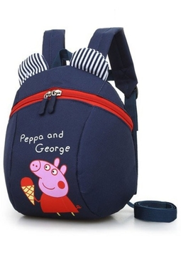 Balo trẻ em ,thích hợp cho bé từ 1 đến 5 tuổi ,chống thấm nước Peppa&George
