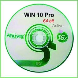 Bộ DVD Cài WIN 10 Pro 64 bit Activate
