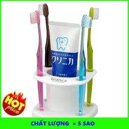Giá cắm bàn chải kem đánh răng (mẫu tròn) Hàng Nhật