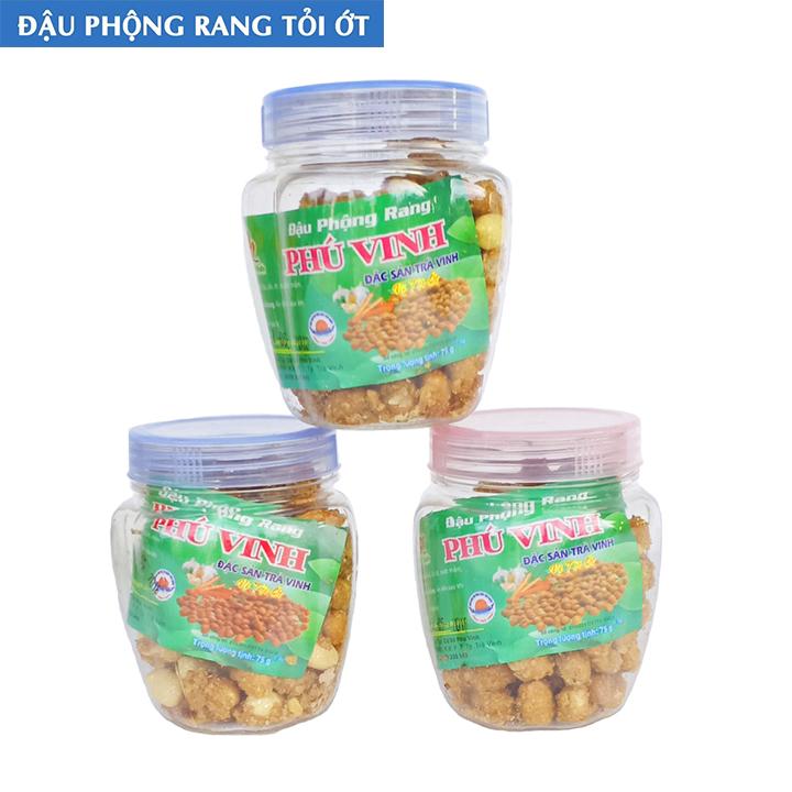 Đậu Phộng Rang Phú Vinh - Đặc sản Trà Vinh (75g)