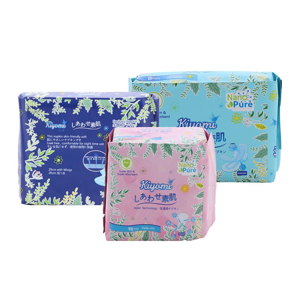 [GIÁ SỐC] Combo Kiyomi Băng vệ sinh ngày, đêm, hàng ngày