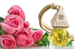 Tinh dầu thơm treo xe hương Hoa hồng - khử mùi hôi - Hơn cả sự đẳng cấp!
