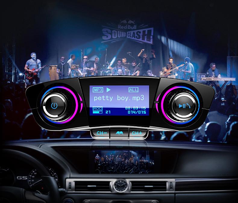 Tẩu bluetooth ô tô phát nhạc