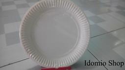 Đĩa giấy trắng 23cm