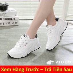 Giày Thể Thao Nữ Trắng VAHS