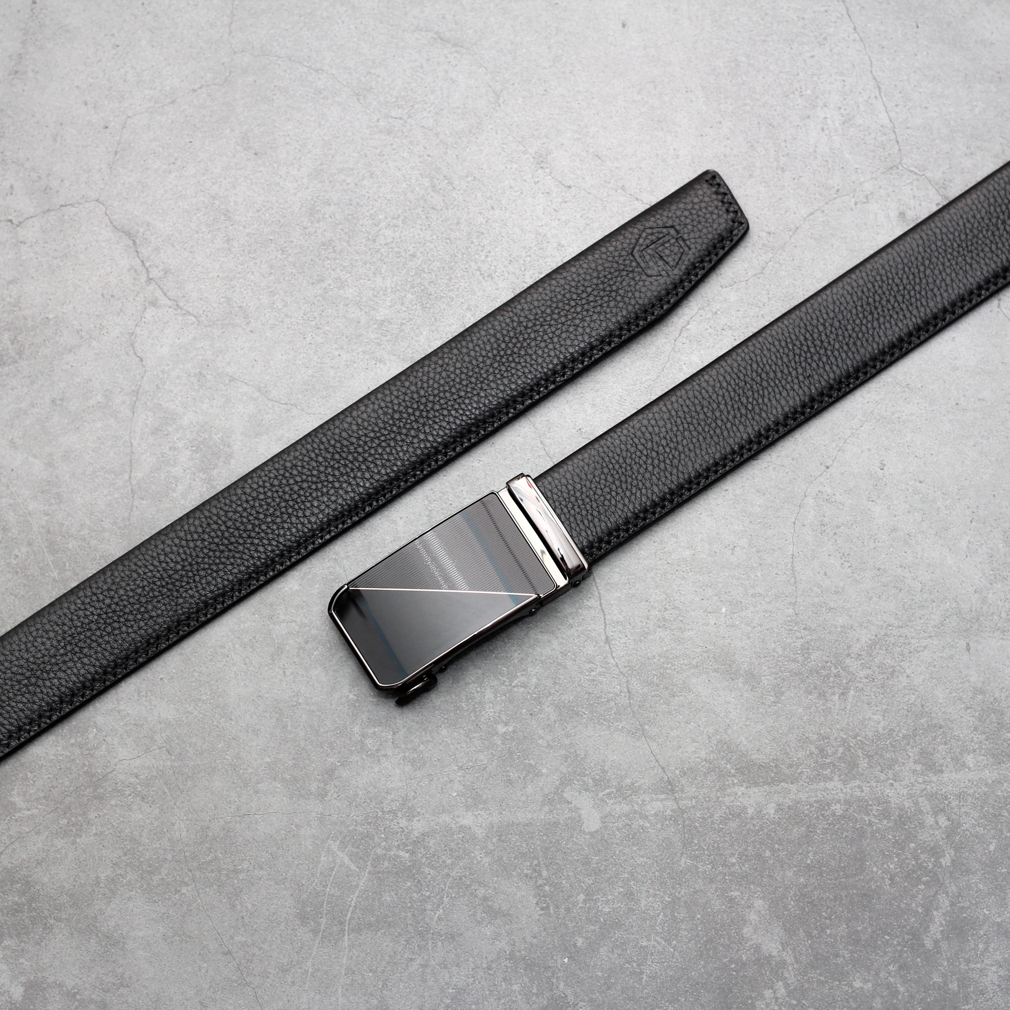 Thắt lưng nam da bò cao cấp  AT Leather PT05