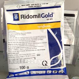 Trừ bệnh cho hoa lan, cho cây trồng-Ridomil Gold 68WG 100g