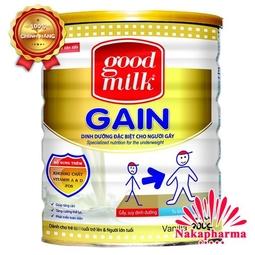 Sữa tăng cân Goodmilk Gain 900g – Dinh dưỡng dành cho người gầy, suy dinh dưỡng