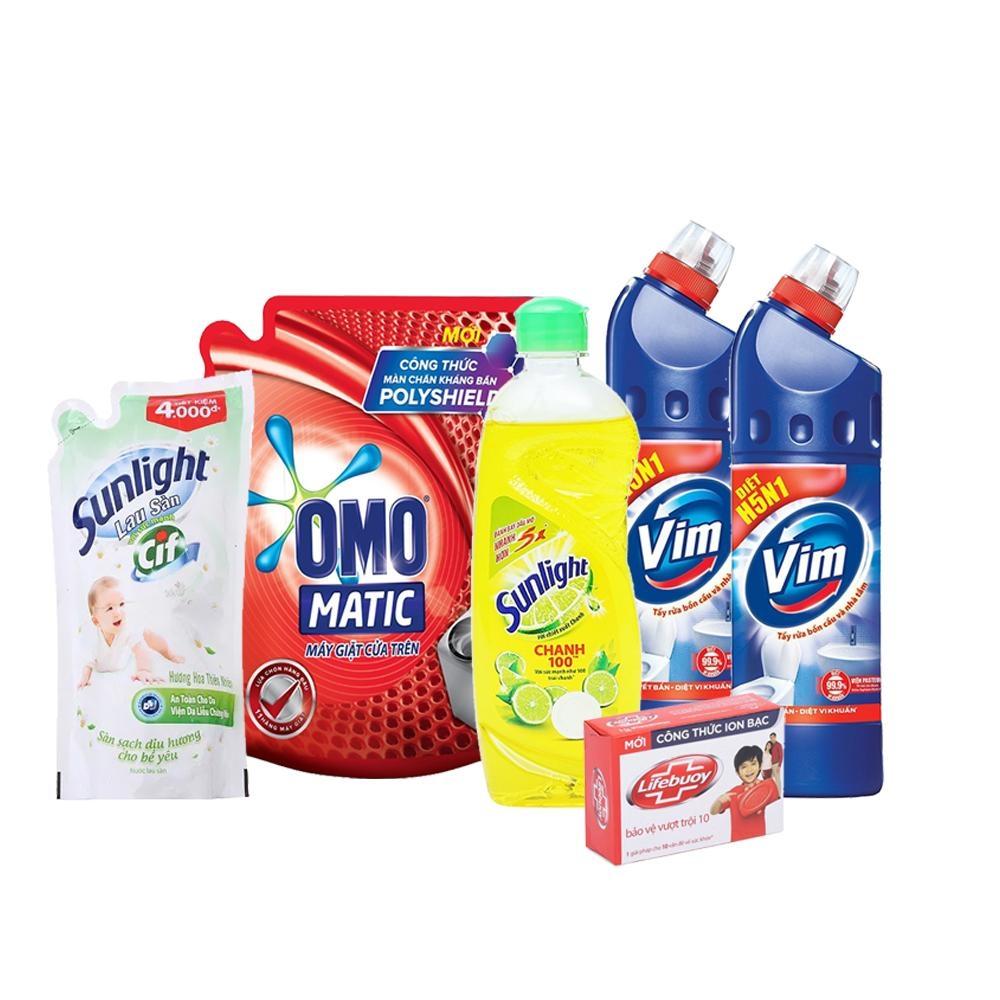 Combo Giặt ủi và Vệ sinh nhà cửa