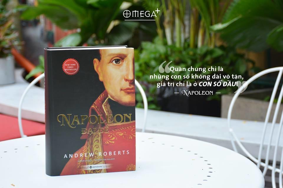 """Kết quả hình ảnh cho Cuốn sách """"Napoleon Đại đế"""