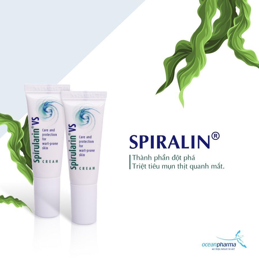 Kem trị mụn cóc, mụn cơm, sùi mào gà Spirularin VS Cream - CHLB Đức