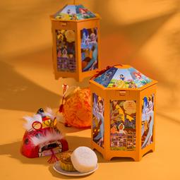 Bánh Trung Thu Hộp Đèn Lồng 4 Bánh hình Elsa - HLDENLONG4