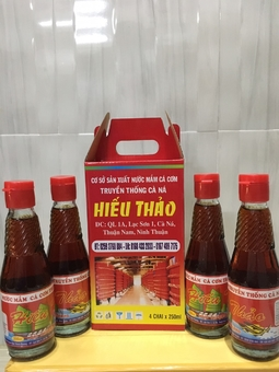 Nước mắm Hiếu Thảo Ninh Thuận
