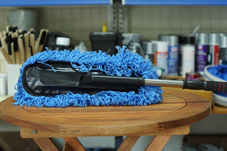 Chổi rửa xe ô tô cán dài nano siêu mịn