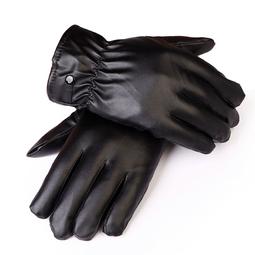 Găng tay da đi xe máy lót nỉ cảm ứng tiện dụng khi đi xe máy vẫn cảm ứng điện thoại 1000002278