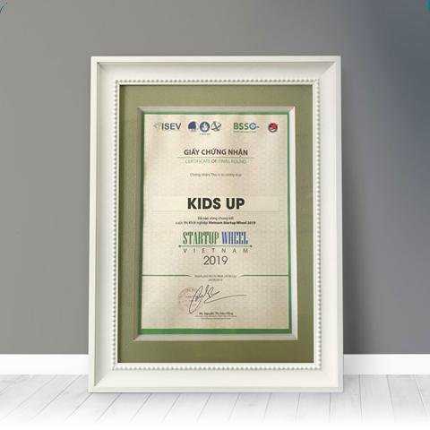 Kidsup Giáo dục sớm gói 1 năm