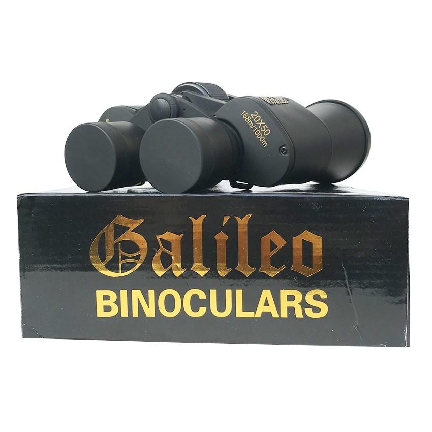 Ống Nhòm Du Lịch 2 Mắt Chuyên Dụng Xuyên Đêm Ống Nhòm Galileo 20x50 Góc Nhìn Rộng