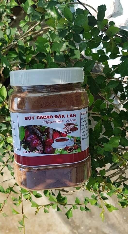 Bột Cacao nguyên chất 100% - Đặc Sản Đăklăk