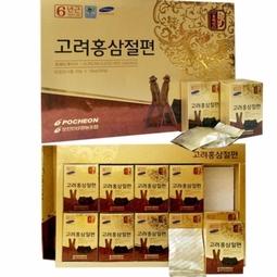 Hồng sâm cắt lát - Korean Sliced red ginseng