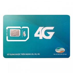 Sim 4G Viettel F70 miễn phí gọi nội mạng dưới 10 phút