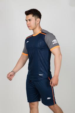 Bộ quần áo thể thao nam cao cấp - Quần áo đá bóng nam Everest R302-Navy