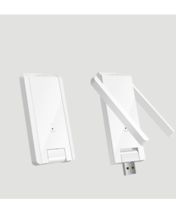 Kích sóng Wifi 300M 2 Râu MIMO mercury MW302RE model nâng cấp 2019, kich song wifi, kích wifi, cuc hut wifi, cục kích sóng wifi 1000000235