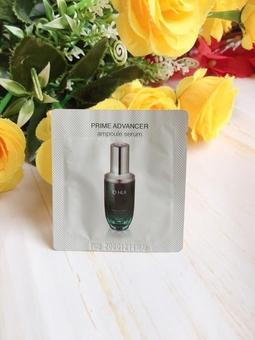 Tinh chất ohui xanh PRIME ADVANCER ampoule serum