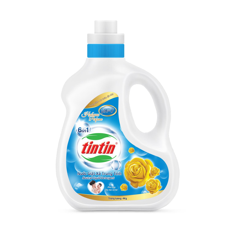 Nước giặt xả Tintin đậm đặc chai 2..2KG