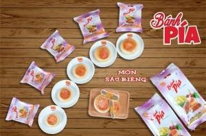 Bánh Pía Môn Trứng Muối_Tân Huê Viên