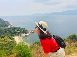 Tour tham quan Đảo Bình Ba - Đón khách Nha Trang - Phương tiện cano