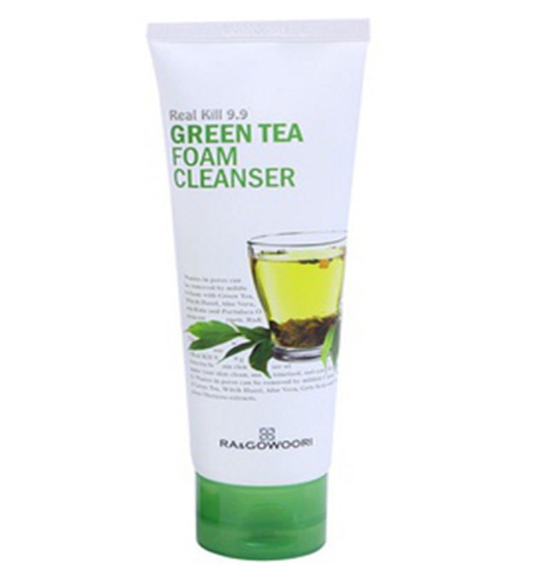 Sữa Rửa Mặt Trà Xanh ờ Thâm RaGowoori Real Kill 9.9 Green Tea 120ml -  P483976 | Sàn thương mại điện tử của khách hàng Viettelpost