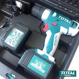 Máy khoan vặn vít dùng pin 18V Total TIDLI228180
