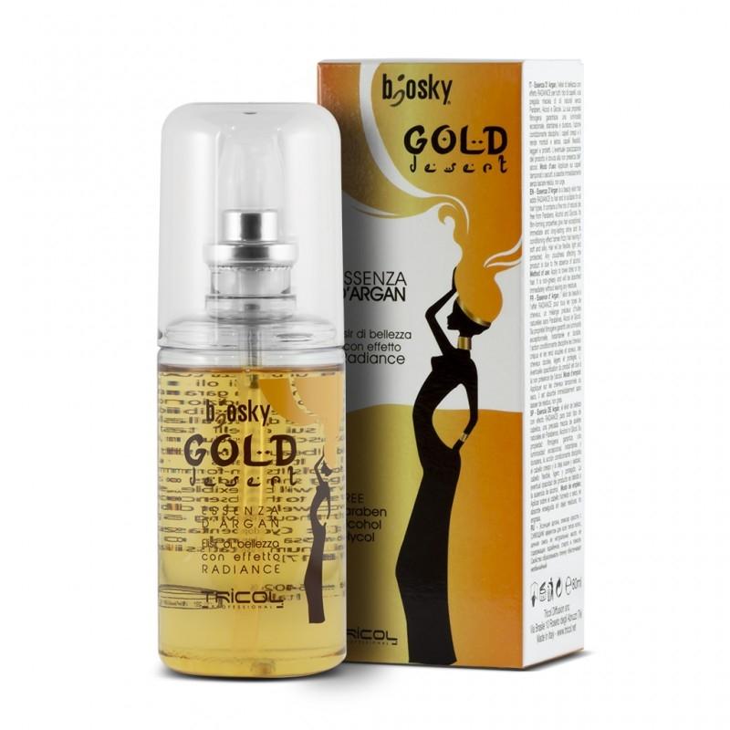 Hàng nhập khẩu của Ý Dầu gội dưỡng ẩm, phục hồi, mềm mượt Argan Gold Desert Shampoo 1000ML BK0014