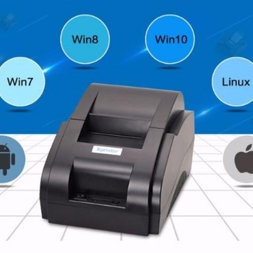 Máy In nhiệt Bluetooth Xprinter 58iih, Chuyên in Viettelpay pro