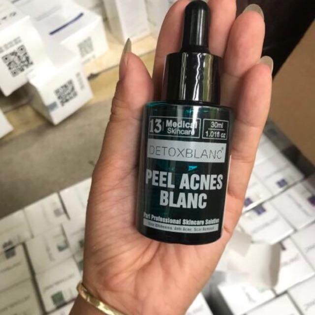 Serum Đặc Trị Mụn Detox Blanc Mẫu Mới- serum trị mụn detox blanc - Detox Mụn Số 13 - Detox mụn mẫu mới