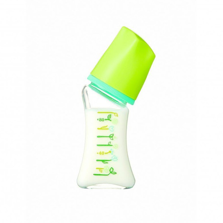 Bình sữa thuỷ tinh Dr. Betta Brain Flower GF4 - 80ml
