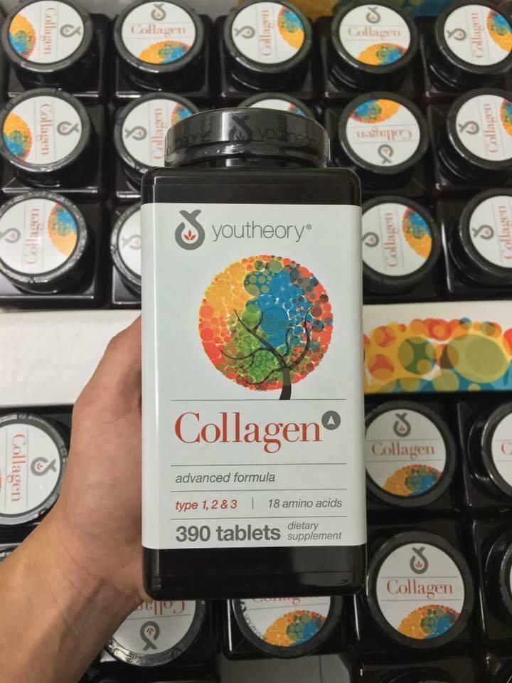 Collagen Youtheory Type 1, 2 & 3 của Mỹ – viên uống giúp xóa mờ nếp nhăn, trẻ hóa