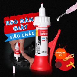 Keo Dán Giày G30+ bộ dụng cụ (Dính Siêu Mạnh)