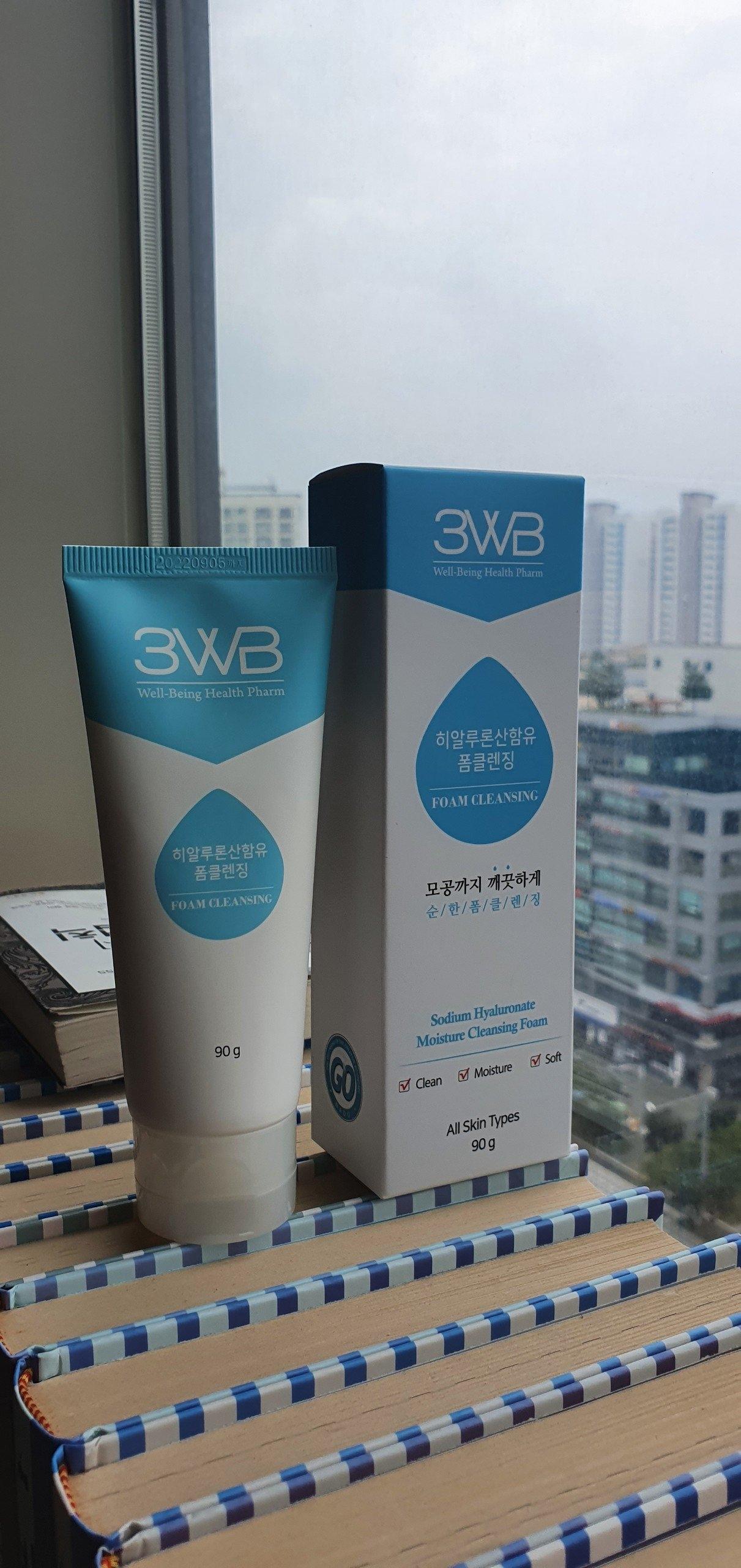 Sữa rửa mặt làm sáng da và dưỡng ẩm 3WB Pretty Face Mild Foam Cleansing 90g