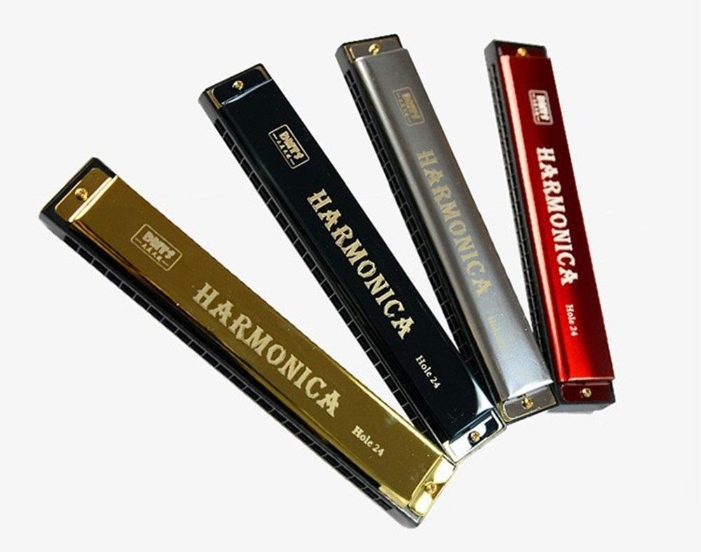 Hướng dẫn cách thổi kèn Harmonica 24 lỗ