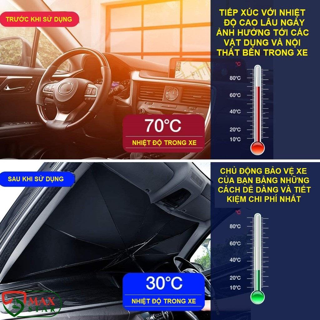 Ô che nắng kính lái ô tô tự động thông minh cao cấp