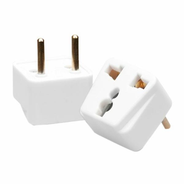 Phích cắm điện chuyển đổi ổ 3 chấu sang 2 chấu Vinakip