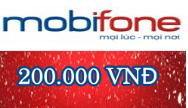 THẺ CÀO MOBI MỆNH GIÁ 200.000