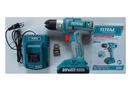 Máy khoan vặn vít dùng pin 20V MAX Total TDLI20021