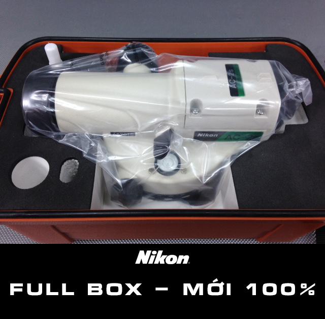 Máy thủy bình Nikon AC-2S Tặng kèm chân mia